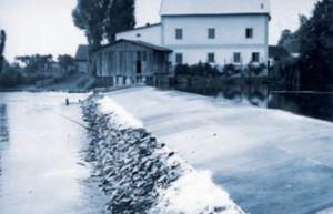 Jez a mlýn Podhůra na Orlici (1938)
