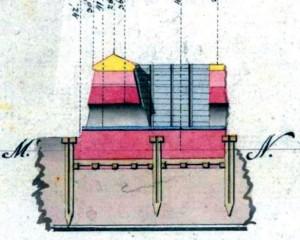 Panenka na vtokovém kanálu horního inundačního kotle (1781)