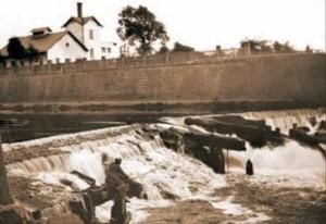 Orlický pevnostní jez (1907)